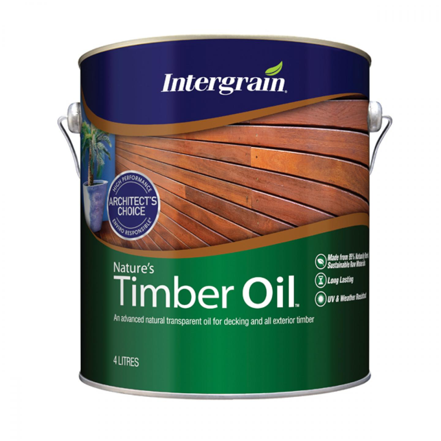 Natural semi transparent penetrating oil for timber decking and garden furniture contains tung oil a natural wood oil that penetrates deep into timber